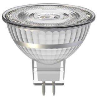 Ampoule LED MR16 GU5.3 6.3W Blanc Chaud (Compatible Variateur)