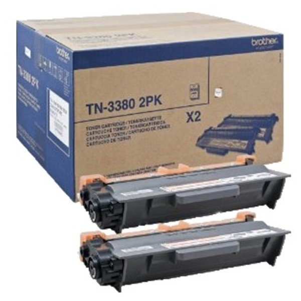 ORIGINAL Brother TN3380TWIN - Toner noir