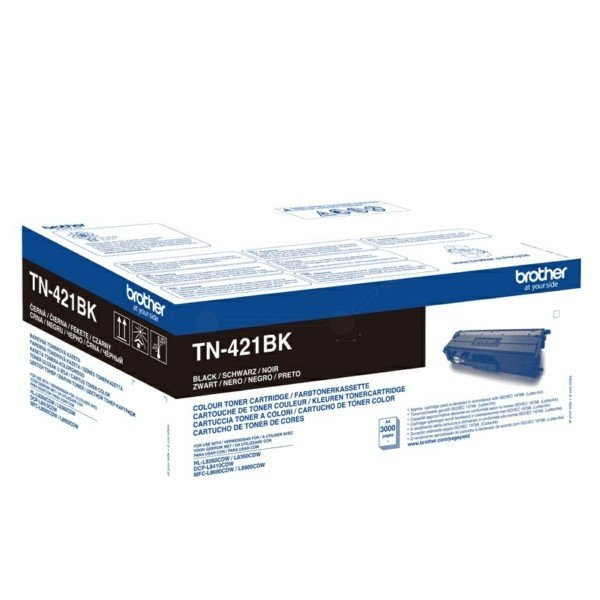 ORIGINAL Brother TN421BK - Toner noir