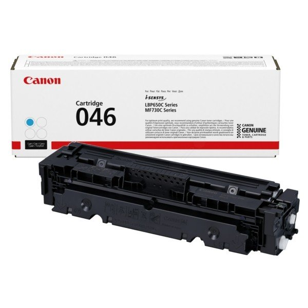 ORIGINAL Canon 1249C002 / 046 - Toner cyan