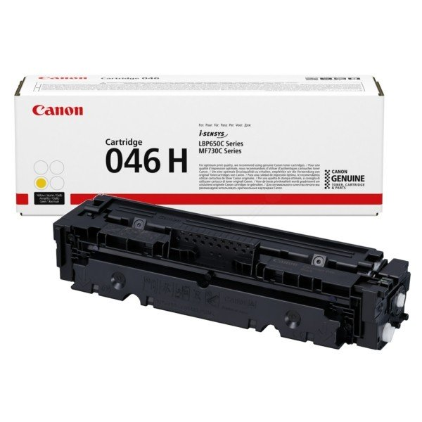 ORIGINAL Canon 1251C002 / 046H - Toner jaune