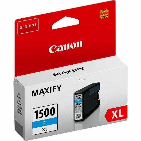 ORIGINAL Canon 9193B001 / PGI-1500 XLC - Cartouche d'encre cyan