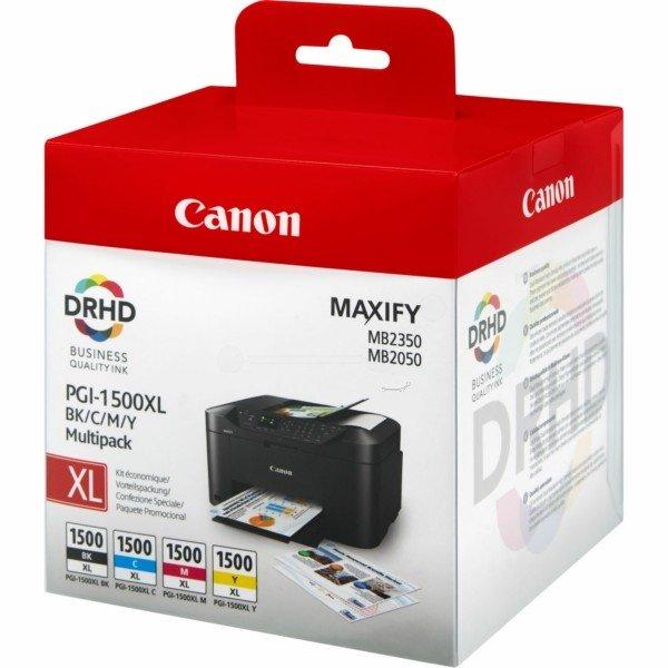 ORIGINAL Canon 9182B004 / PGI-1500 XLCMYBK - Cartouche d'encre multi pack