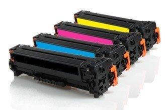 PROMO Pack de 4 toners Compatibles Canon 045H - Multipack