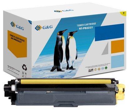 COMPATIBLE Canon 1251C002 / 046H - Toner jaune
