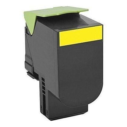 COMPATIBLE Lexmark 71B2HY0 - Toner jaune