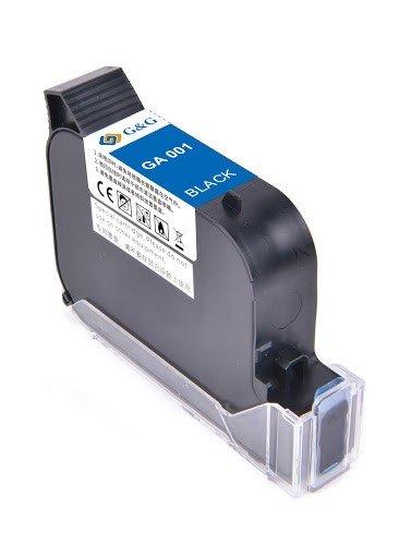 Cartouche G&G pour imprimante d'images GA-001BK - Noir permanent