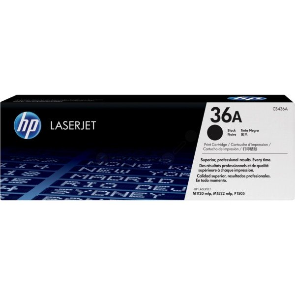 ORIGINAL HP CB436A / 36A - Toner noir