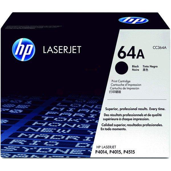 ORIGINAL HP CC364A / 64A - Toner noir