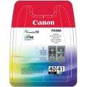 ORIGINAL Canon 0615B051 / PG-40 CL 41 - Cartouche à tête d'impression multi pack